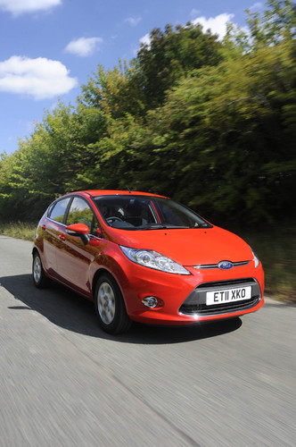 Ford Fiesta Econetic Technology.