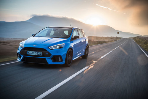 Ford Focus RS Blue & Black.