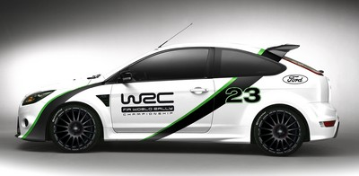 Ford Focus RS WRC Edition.