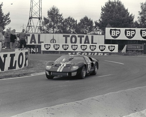 Ford GT 40, Le Mans (1966).