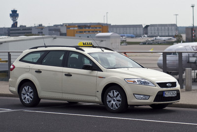 Ford Mondeo mit Taxi-Paket.