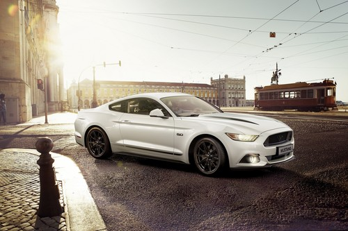 Ford Mustang Black Shadow Edition.
