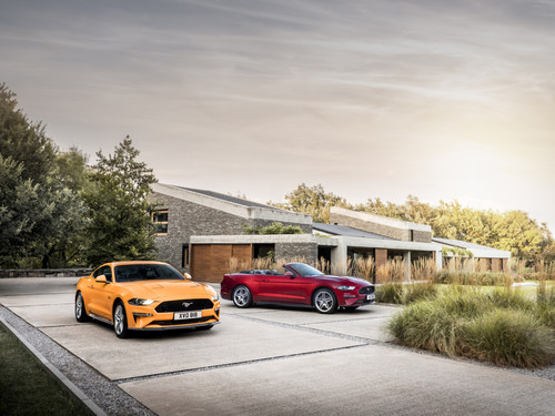 Ford Mustang GT 5.0 und Convertible.
