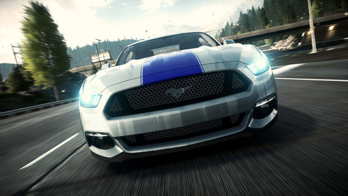 "Ford Mustang in ""Need for Speed Rivals""."