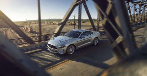 Ford Mustang V8 GT mit Performance Pack.