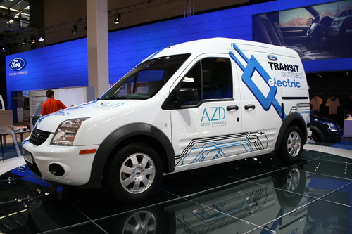 Ford Transit Connect Electric.