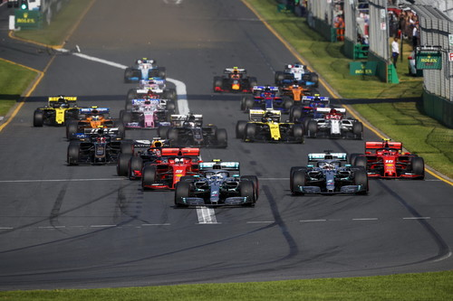 Formel 1: Saisonauftakt 2019 in Melbourne.