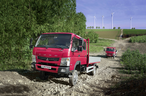 Fuso Canter 4x4.