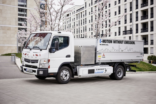 Fuso Canter E-Cell.