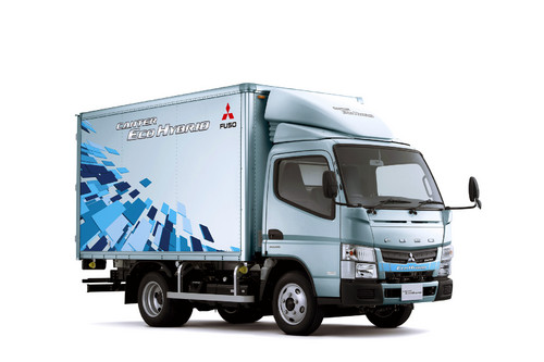 Fuso Canter Eco Hybrid.