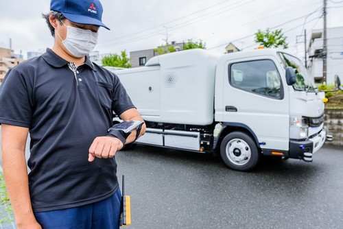 Fuso e-Canter Sensor Collect.