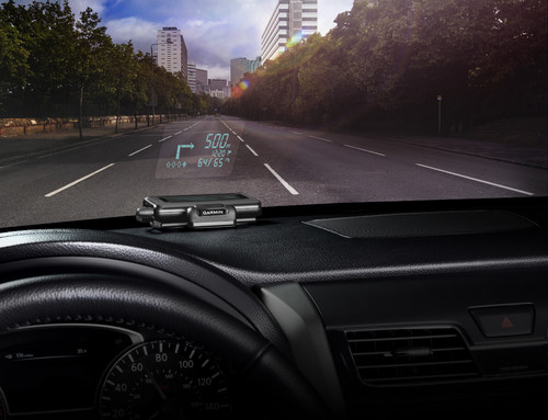 Garmin Head-Up-Display.