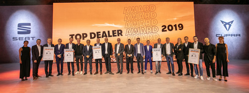 Gewinner des Seat Top-Dealer-Award 2019.