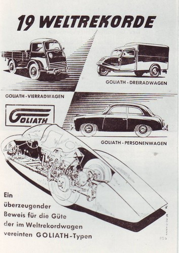 Goliath Rekordwagen.