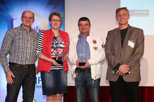 Goodyear Dunlop verleiht Truck-Force Award.