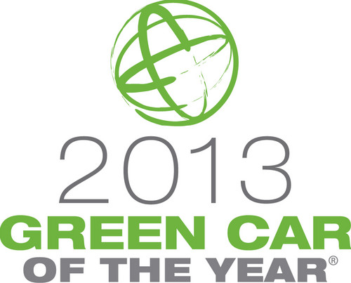 Green Car of the Year 2013 Logo.