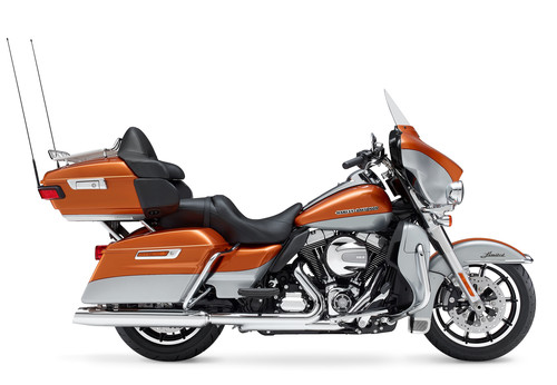 Harley-Davidson Electra Glide Touring Ultra Limited.
