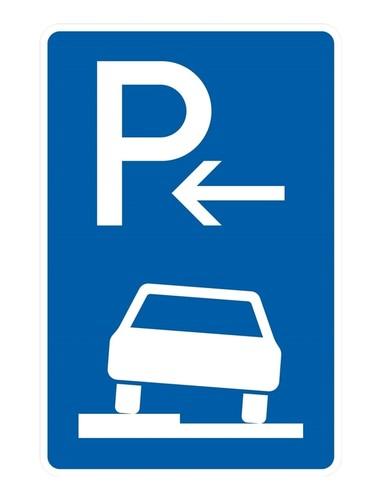 DUCATI Parkplatz nur Zeichen