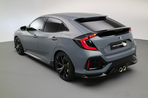 Honda Civic Hatchback Prototyp.