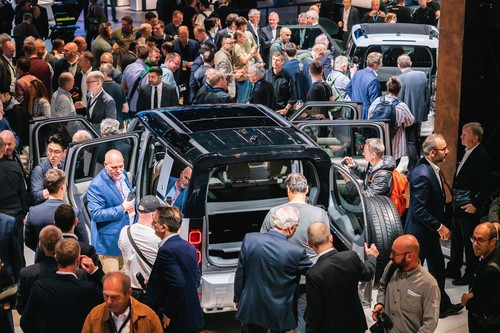 IAA 2019: Land Rover Defender.