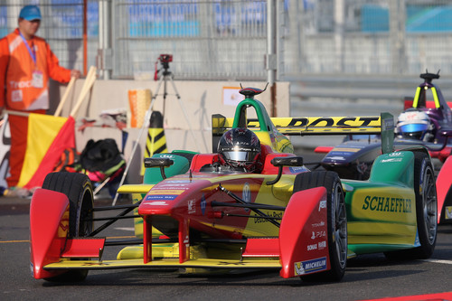 In Peking Start in die Formel-E-Saison: Lucas di Grassi.
