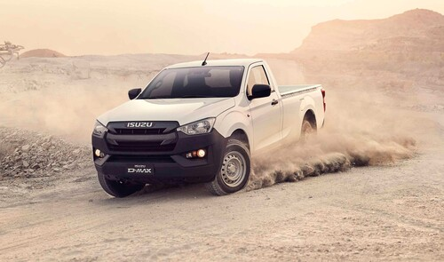 Isuzu D-Max Single Cab.