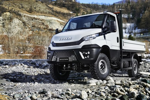 Iveco Daily 4x4.