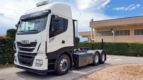 Iveco Stralis Natural Power.