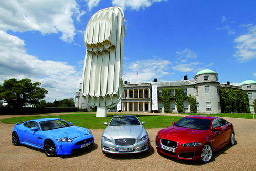 Jaguar beim Festival of Speed in Goodwood.