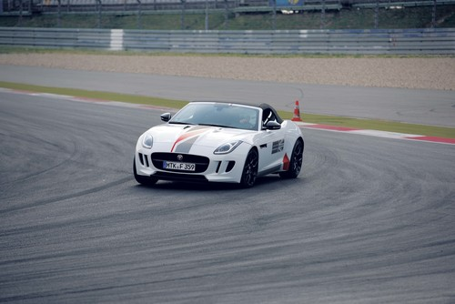 Jaguar Driving Academy.