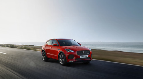 Jaguar E-Pace Chequered Flag.