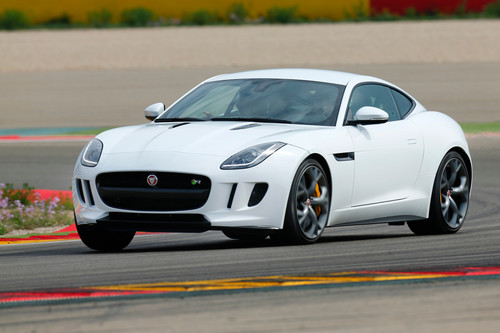 Jaguar F-Type Coupé.