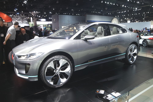 Jaguar I-Pace Concept Car.