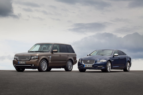 Jaguar XJ Diamond Edition und Range Rover Westminster.