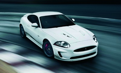 Jaguar XKR mit Speed Pack und Black Pack.