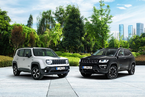 Jeep Renegade 4xe und Jeep Compass 4xe.