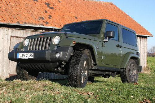 Jeep Wrangler 75th Anniversary.