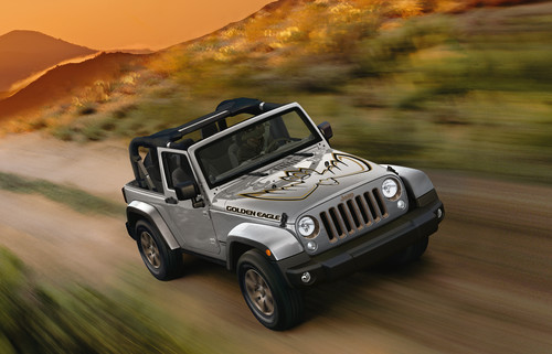 Jeep Wrangler Golden Eagle.