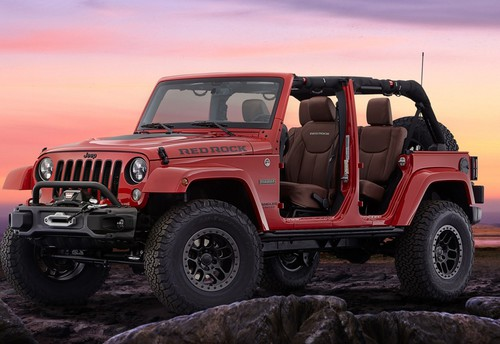 Jeep Wrangler Red Rock Special Edition.