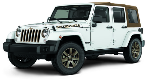 Jeep Wrangler Unlimited Golden Eagle.