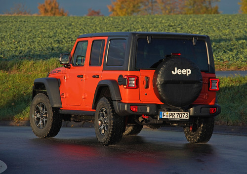 Jeep Wrangler Unlimited Rubicon.