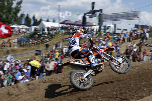 Jeffrey Herlings auf KTM 250 SX-F.