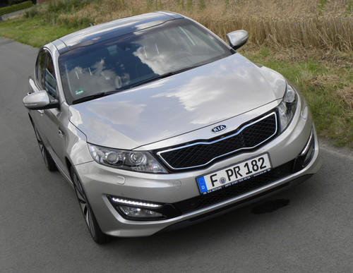 Kia Optima Ecodynamics.