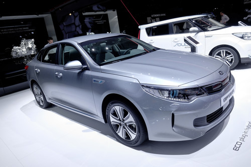 Kia Optima PHEV.