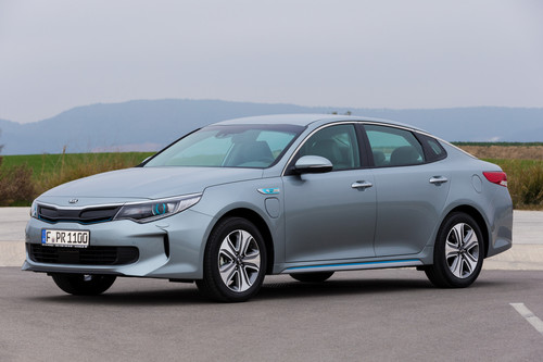 Kia Optima Plug-in-Hybrid.