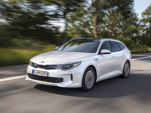 Kia Optima Sportswagon PHEV.