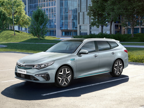 Kia Optima Sportwagon Plug-in Hybrid.