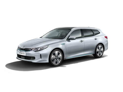 Kia Optima SW Plug-In-Hybrid.