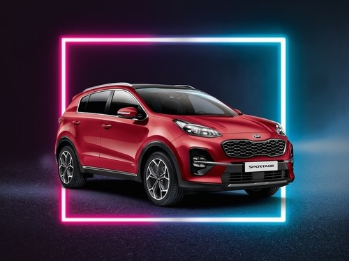 "Kia Sportage ""Dream-Team Edition""."