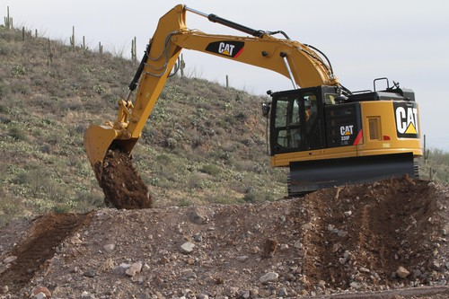 Kurzheckbagger Cat 335F L CR.